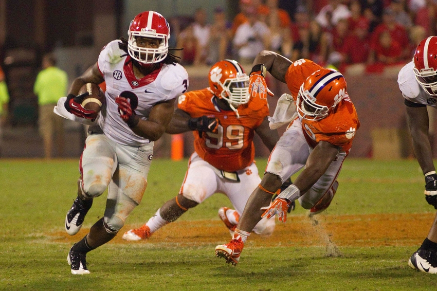 NCAA Football: Georgia at Clemson